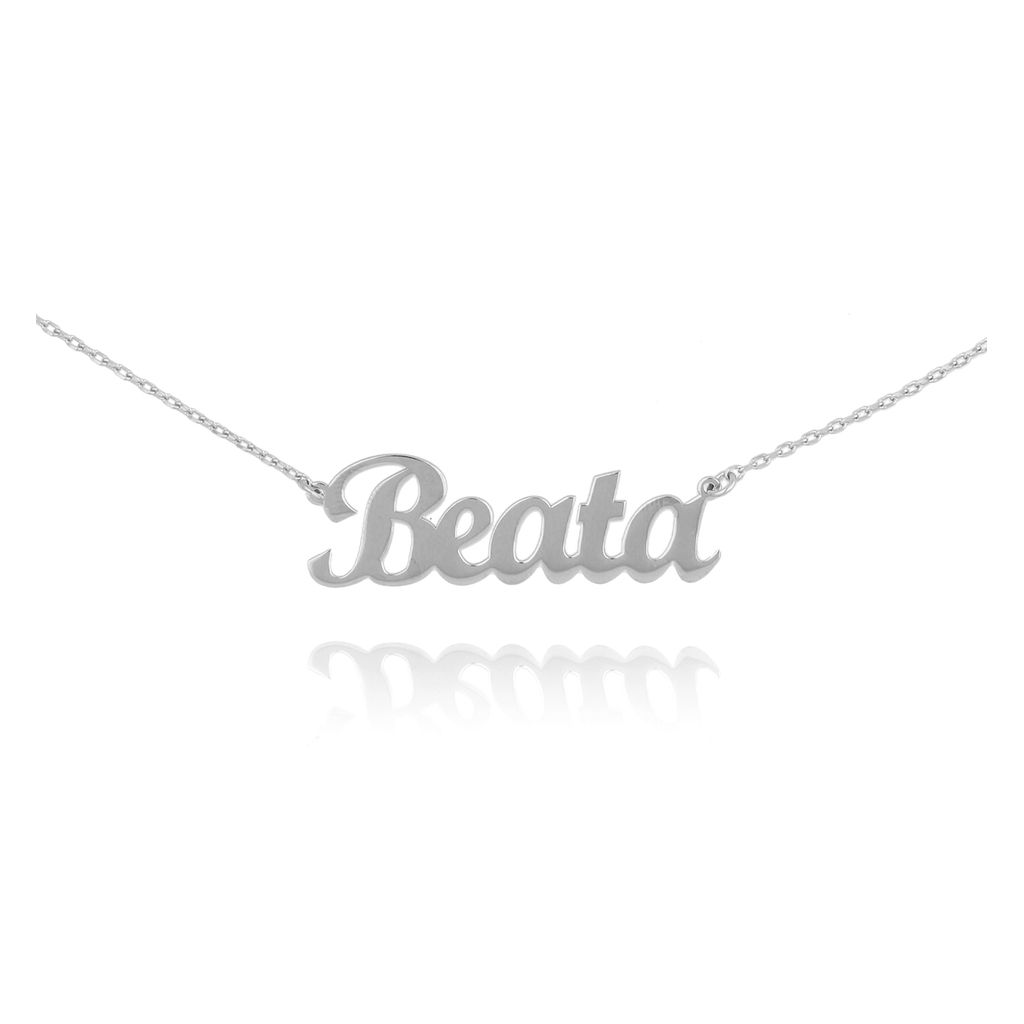 Naszyjnik srebrny BEATA NAT0192