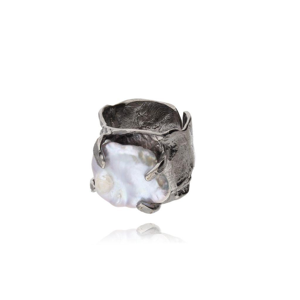 Pierścionek MOTYLE Selene z perłą PMO0028
