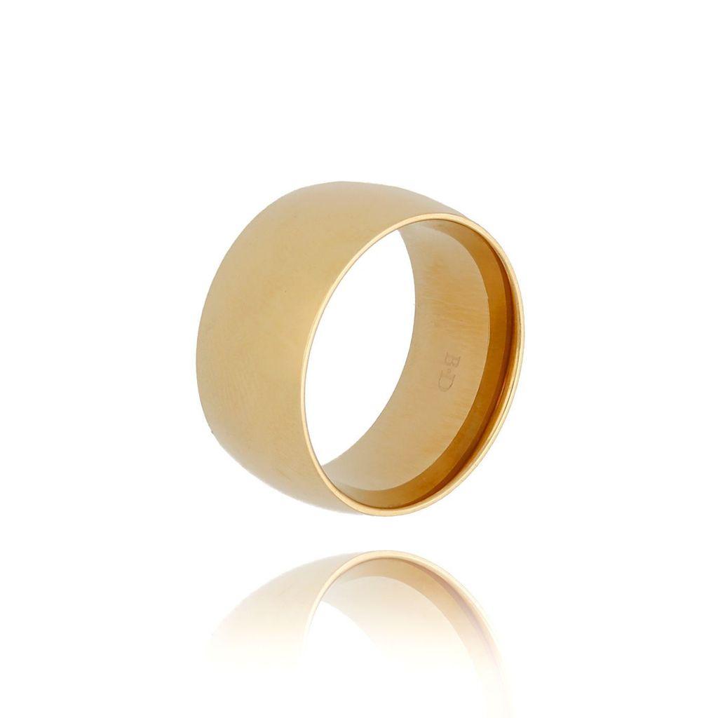 Pierścionek złoty ze stali szlachetnej PSA0175 rozmiar 15