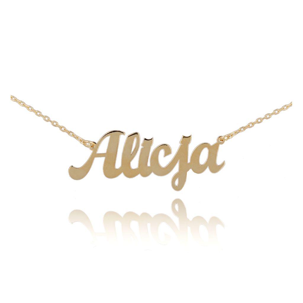 Naszyjnik pozłacany ALICJA NAT0220
