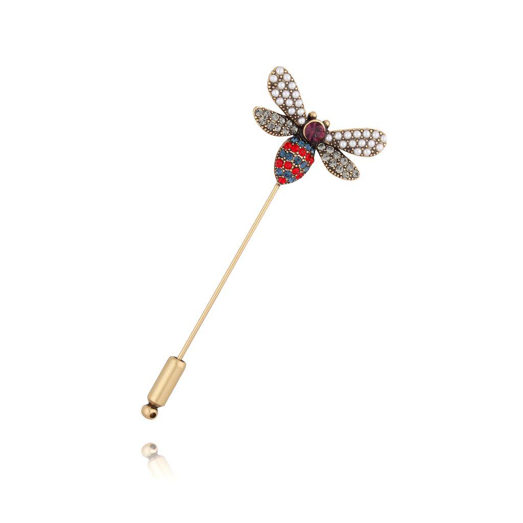 Broszka szpilka kolorowy owad BRMI0109