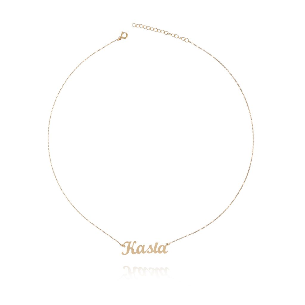 Naszyjnik srebrny pozłacany KASIA NAT0105