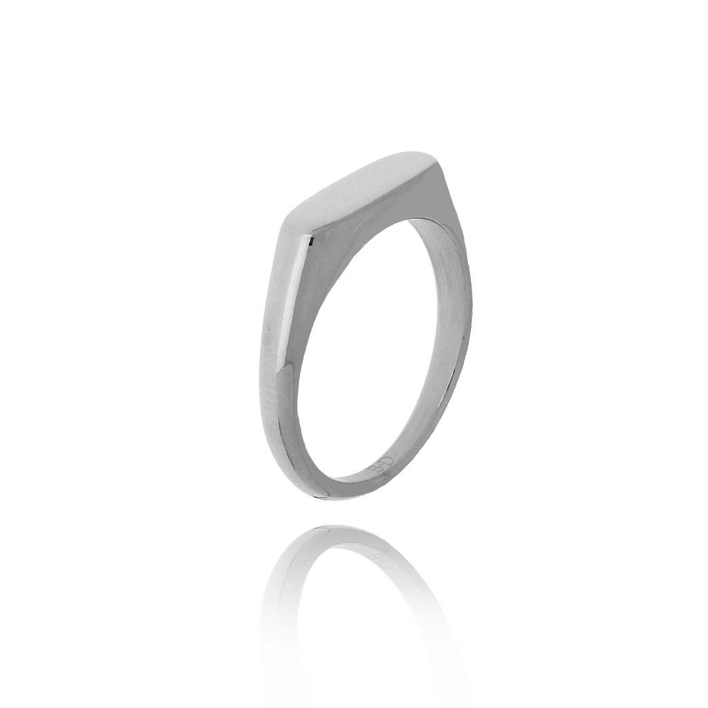 Pierścionek srebrny ze stali szlachetnej PSA0151 Rozmiar 10