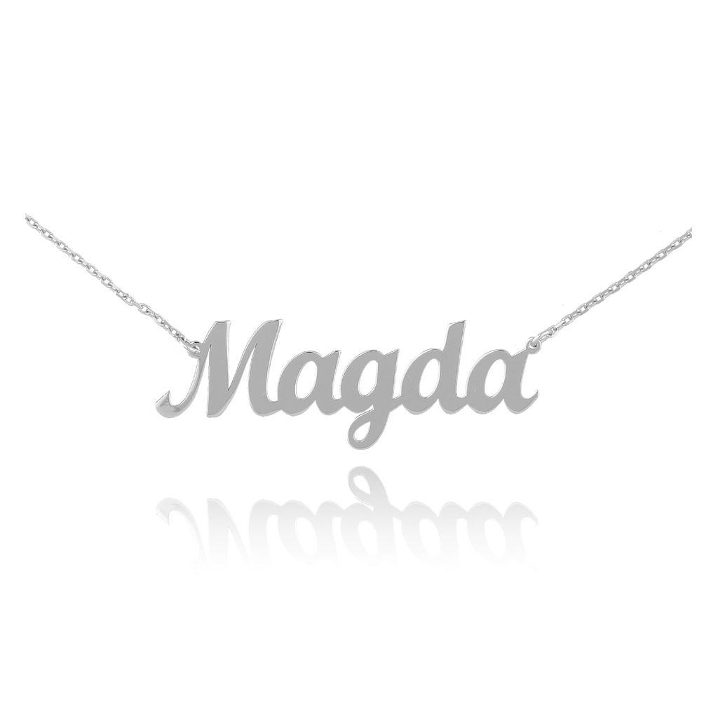 Naszyjnik srebrny MAGDA NAT0235