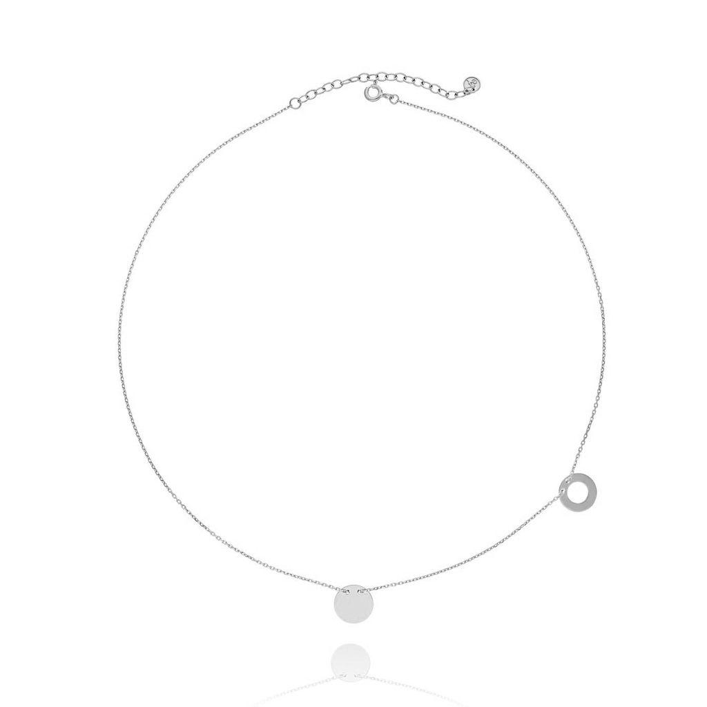 Naszyjnik srebrny NSE0011