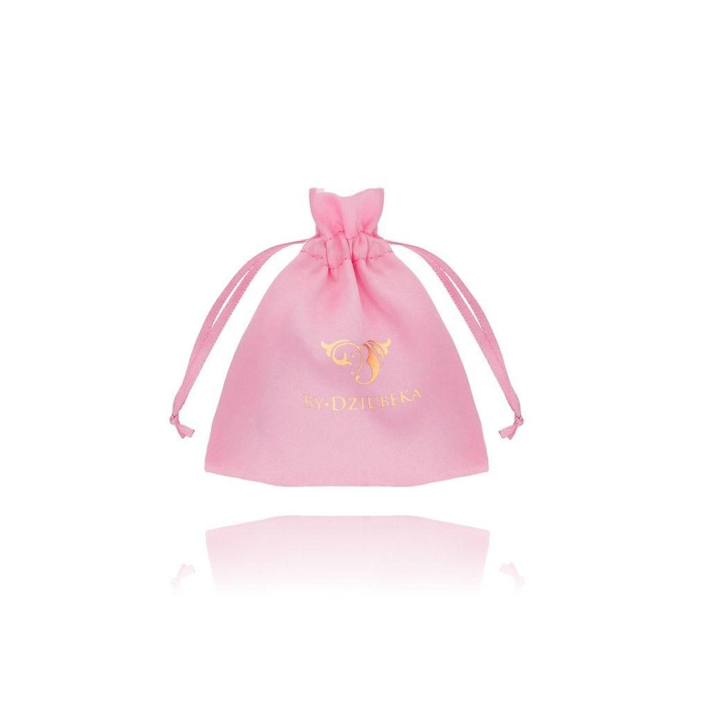 Woreczek satynowy mały-różowy OPA0176