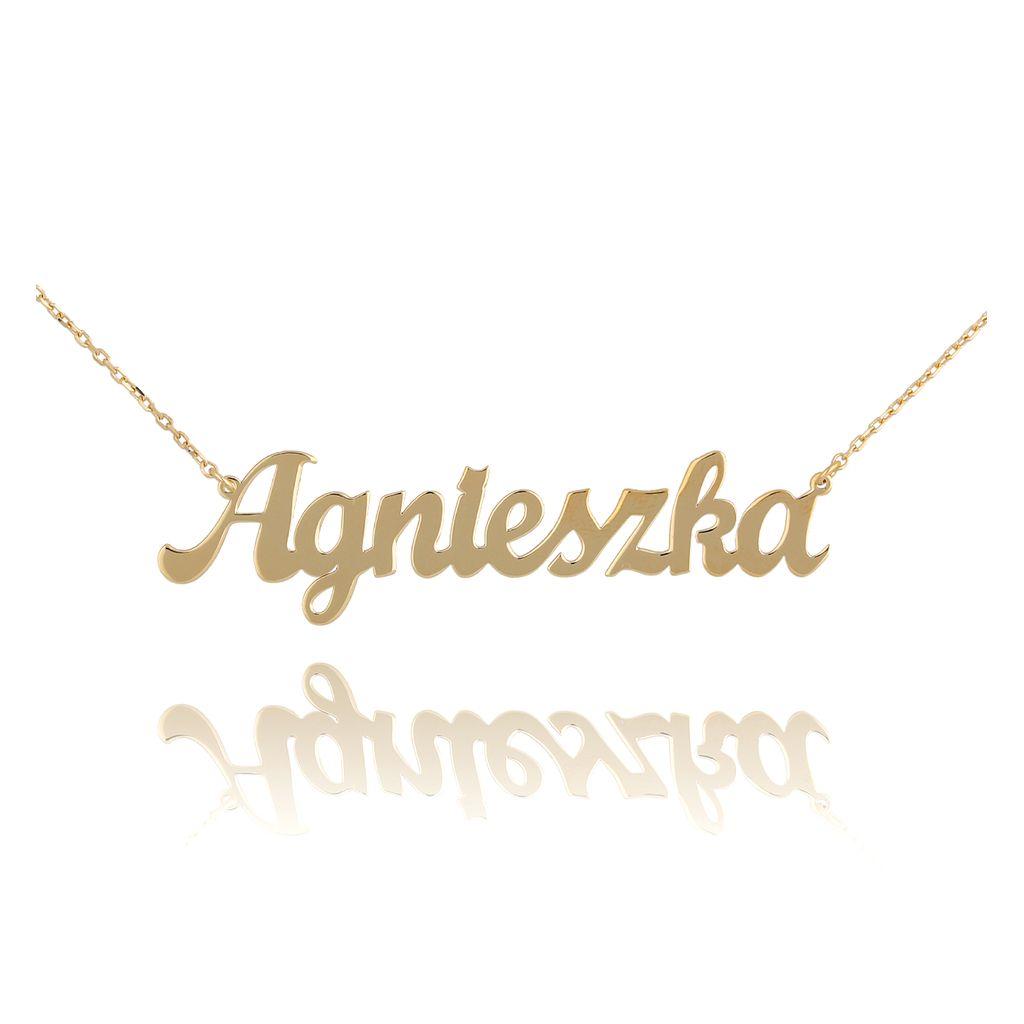 Naszyjnik złoty AGNIESZKA NAT0239