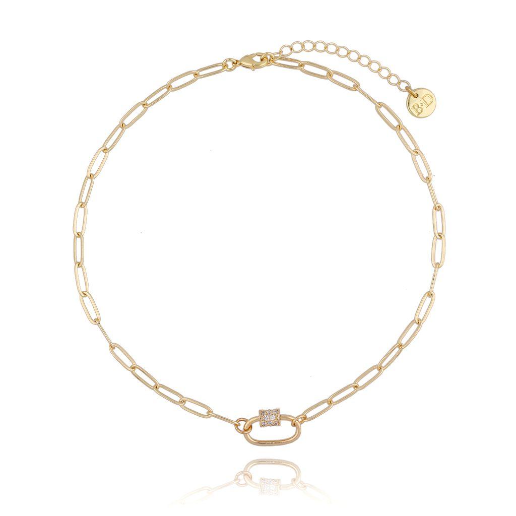Naszyjnik złoty łańcuch NSL0015