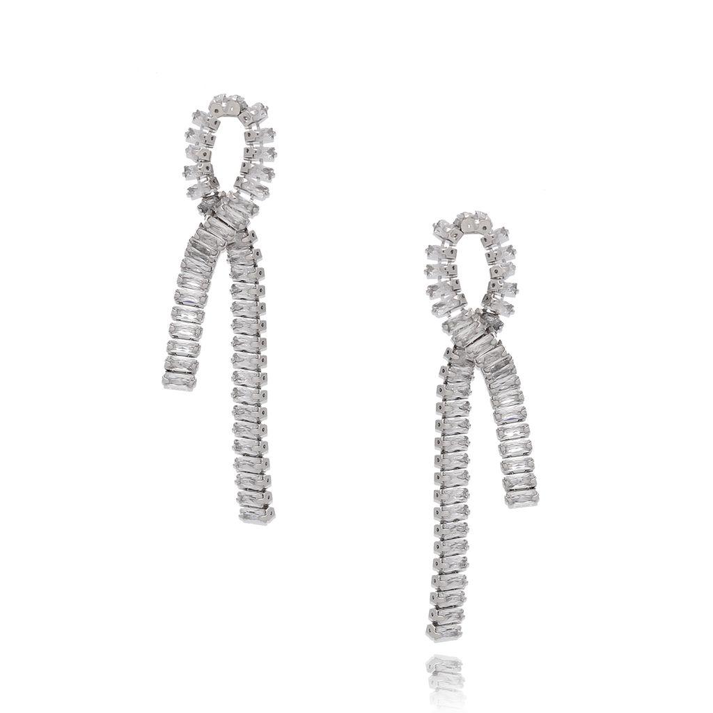 Kolczyki srebrne z cyrkoniami KSS0876