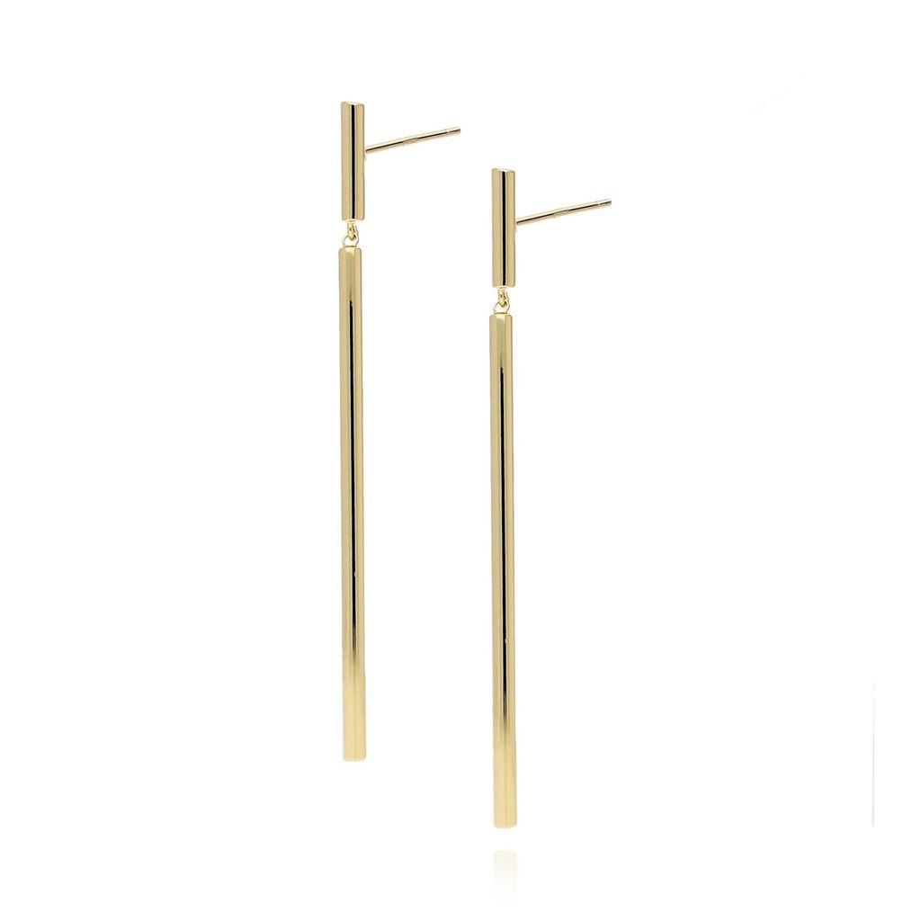 Kolczyki długie złote KRG0315