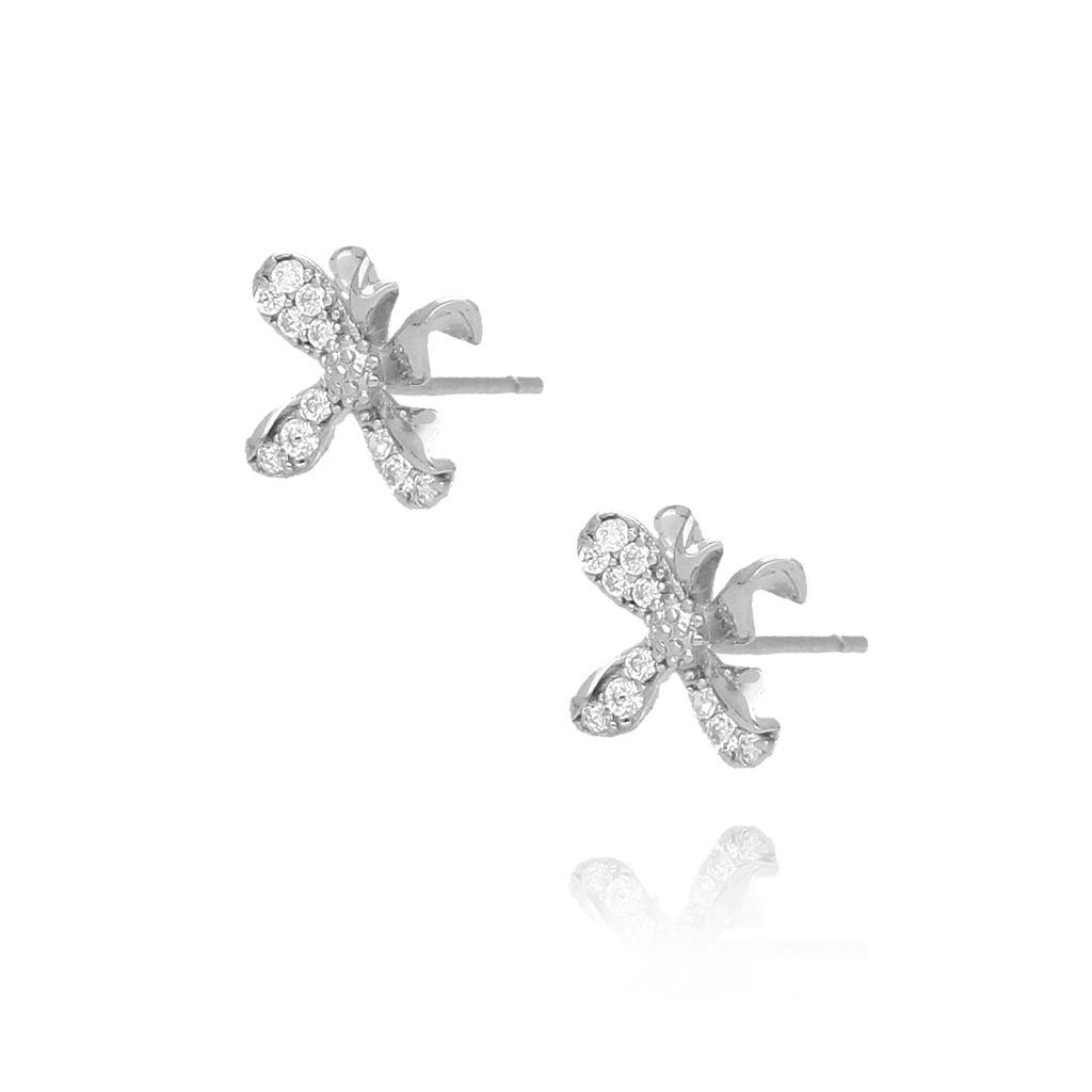 Kolczyki  srebrne kwiatuszki KGM0084