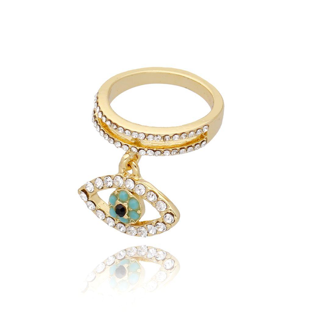 Pierścionek złoty z okiem PRG0189 rozmiar 9