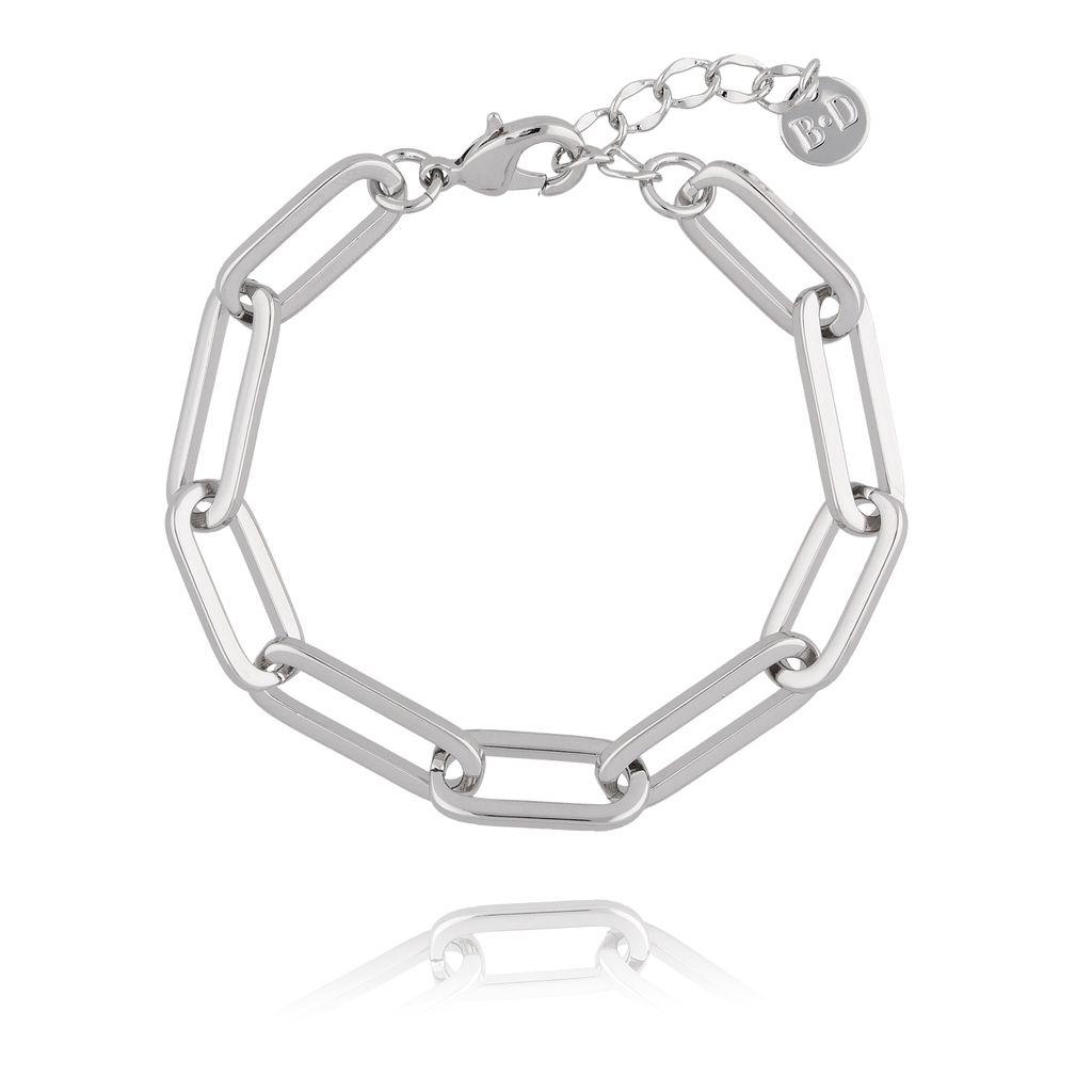 Bransoletka srebrny łańcuch BRG0132