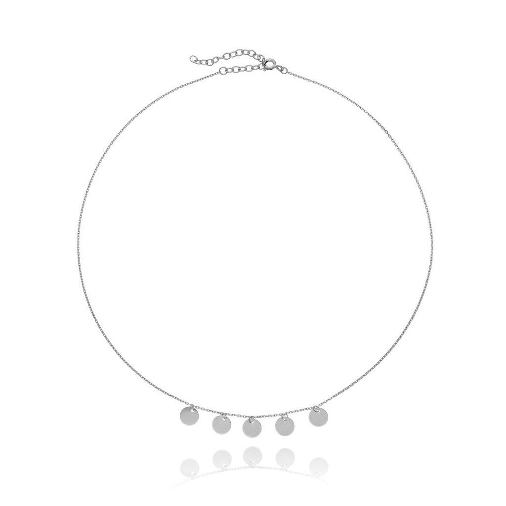 Naszyjnik ze srebra NSE0022