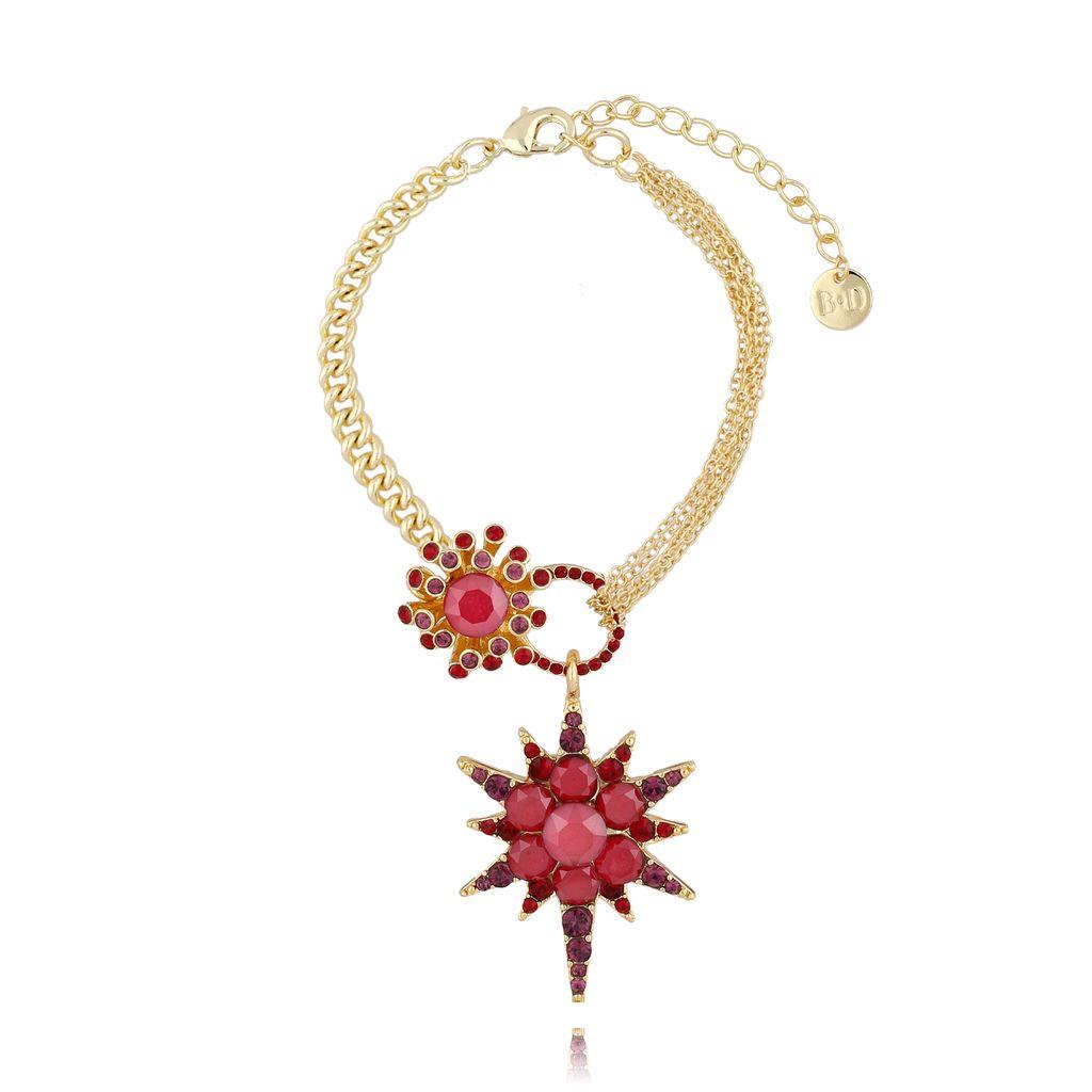 Bransoletka z czerwoną gwiazdą BU0006