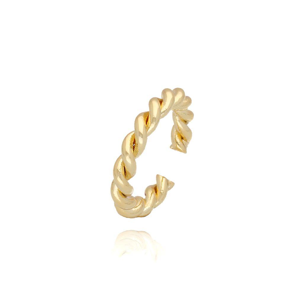 Pierścionek złoty pleciony PRG0086 rozmiar 10