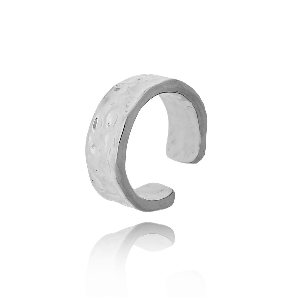 Pierścionek srebrny ze stali szlachetnej PSA0142  Rozmiar 15