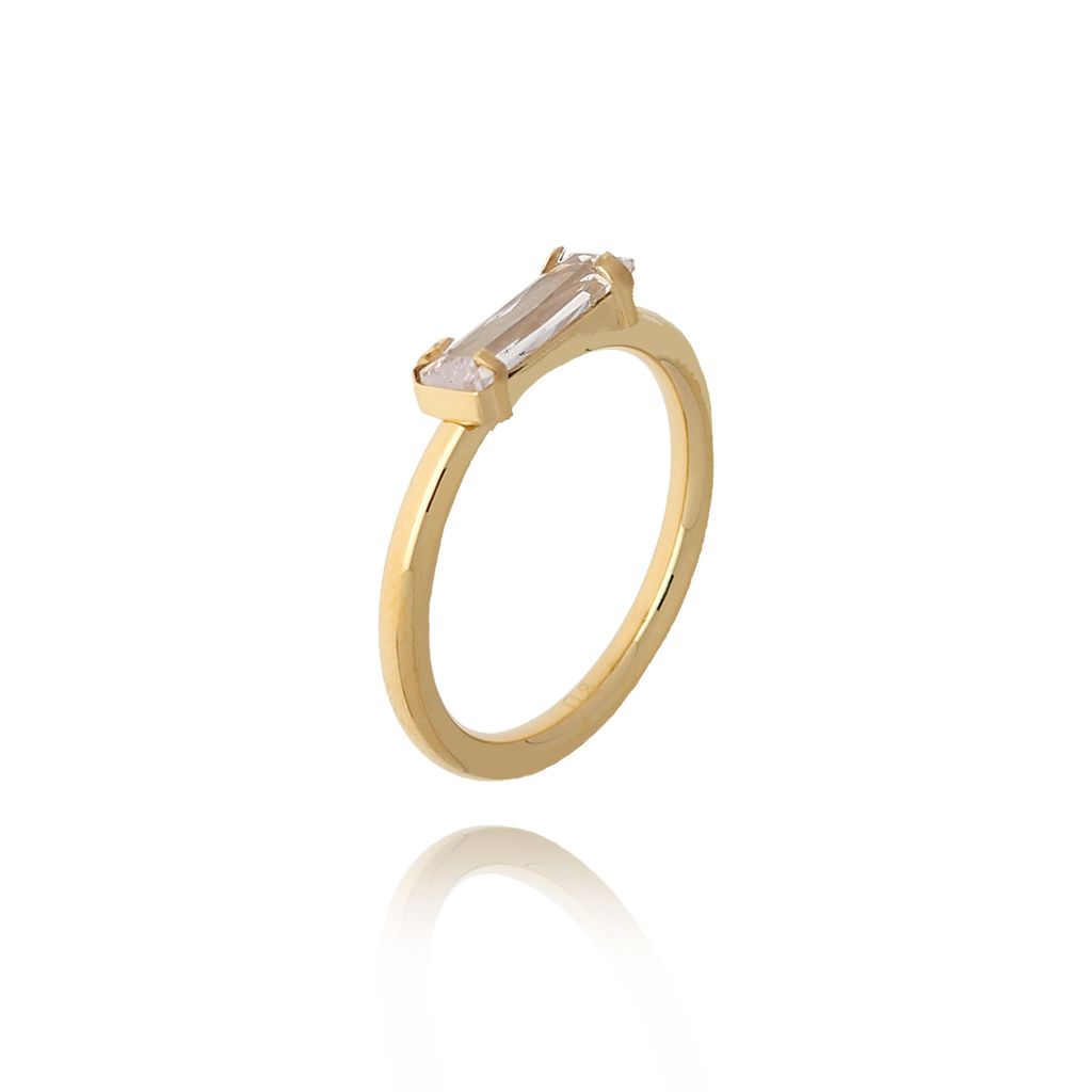 Pierścionek złoty ze stali szlachetnej PSA0157 Rozmiar 12