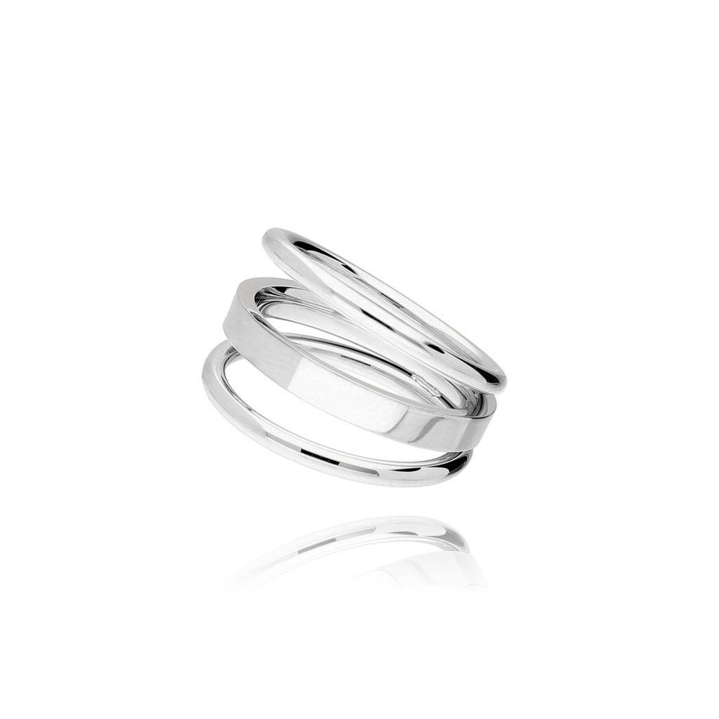 Pierścionek srebrny ze stali szlachetnej PSA0007 rozmiar 13