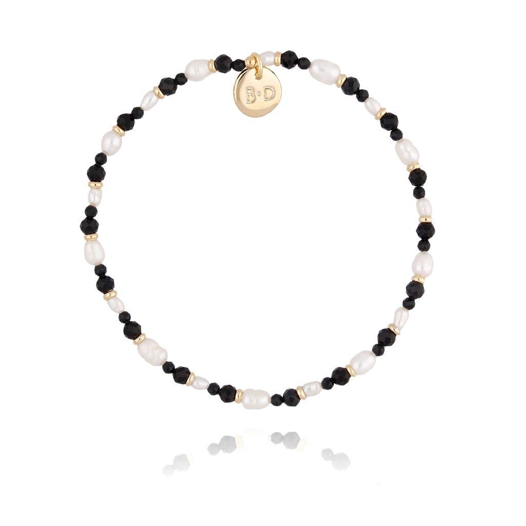 Bransoletka z perłami i hematytami BTW0221