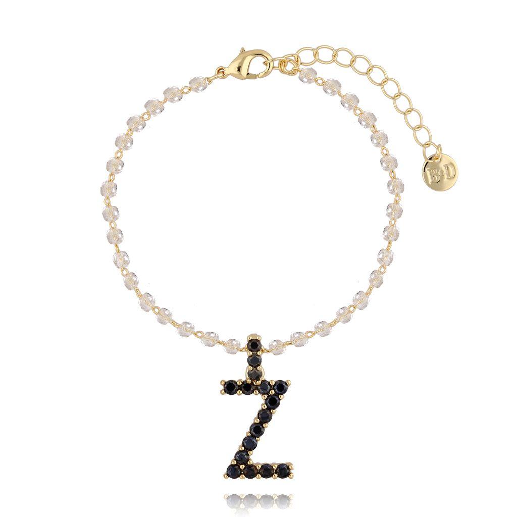 Bransoletka z zawieszką literka Z BRG0157
