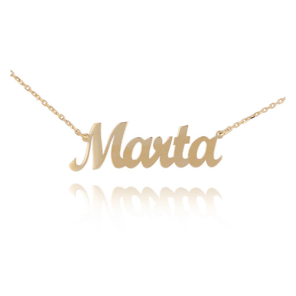 Naszyjnik pozłacany MARTA NAT0193