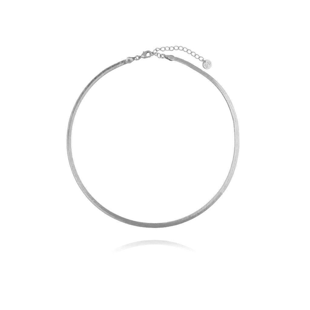 Naszyjnik srebrna żmijka NRG0271 35 cm