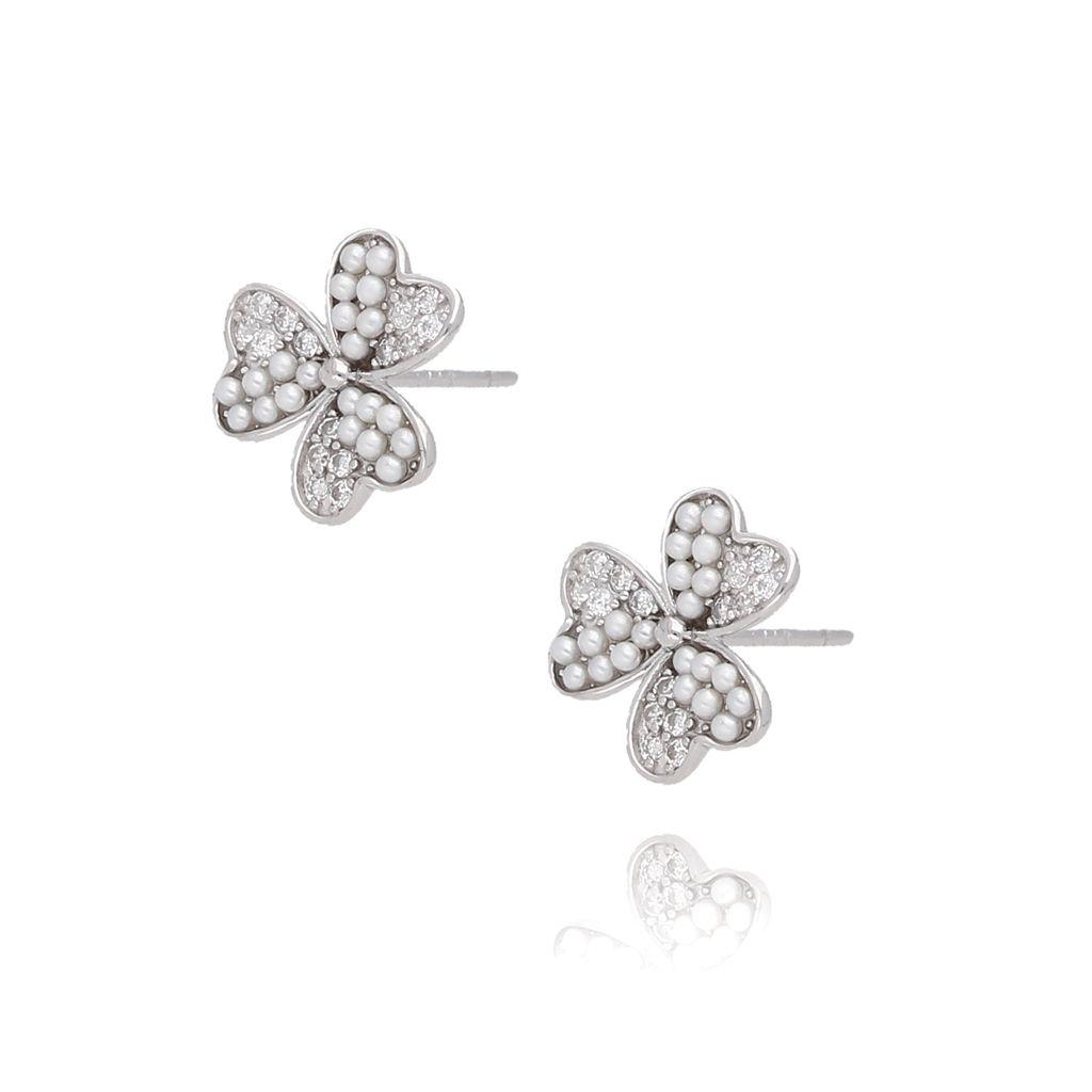 Kolczyki  srebrne kwiatuszki KGM0083