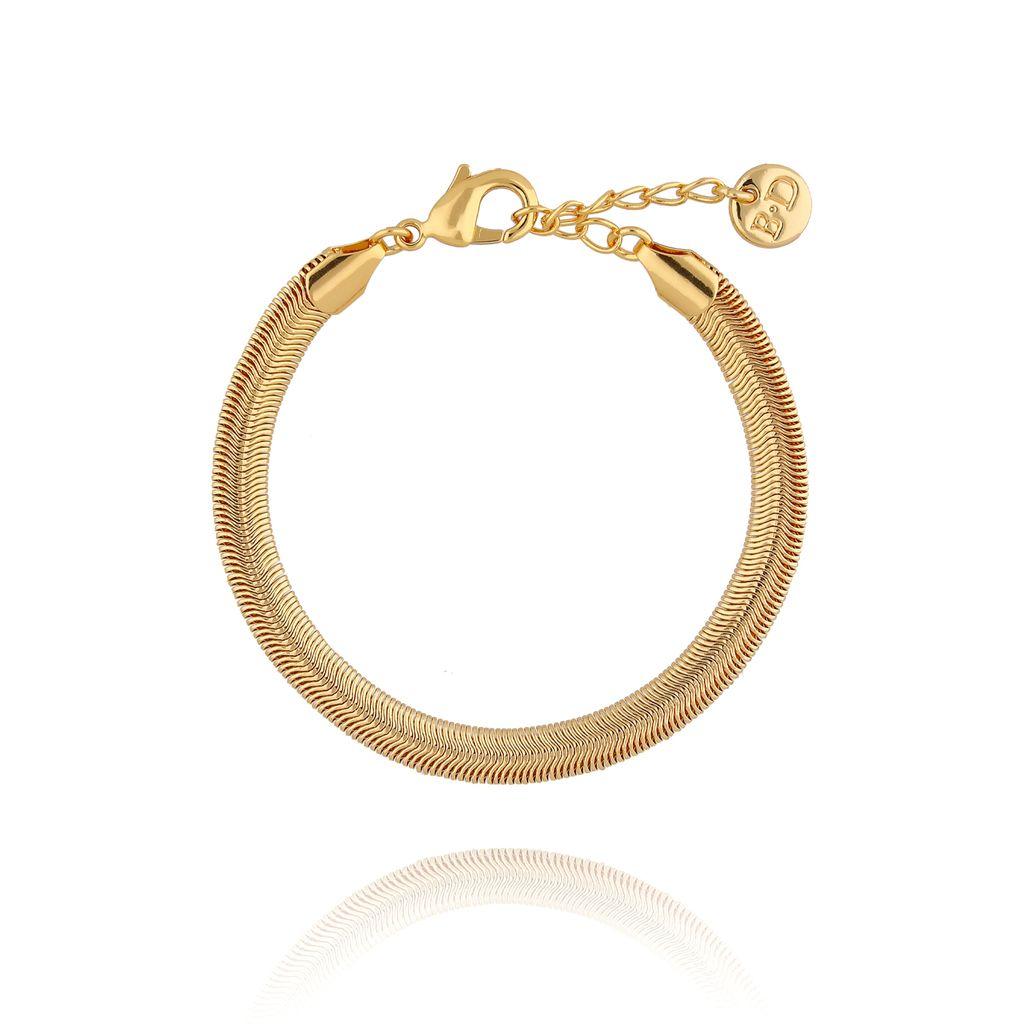 Bransoletka złota żmijka BRG0123