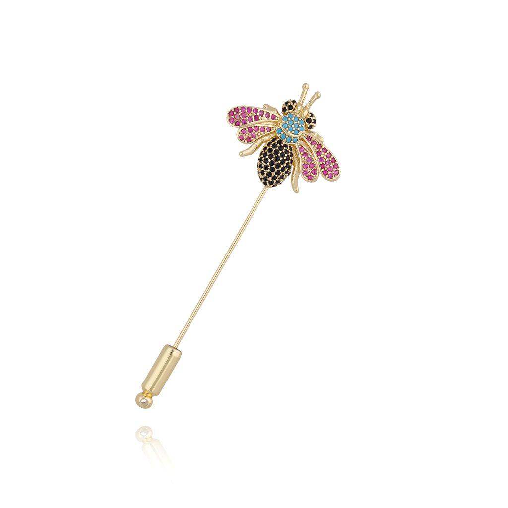 Broszka szpilka kolorowy owad BRMI0113