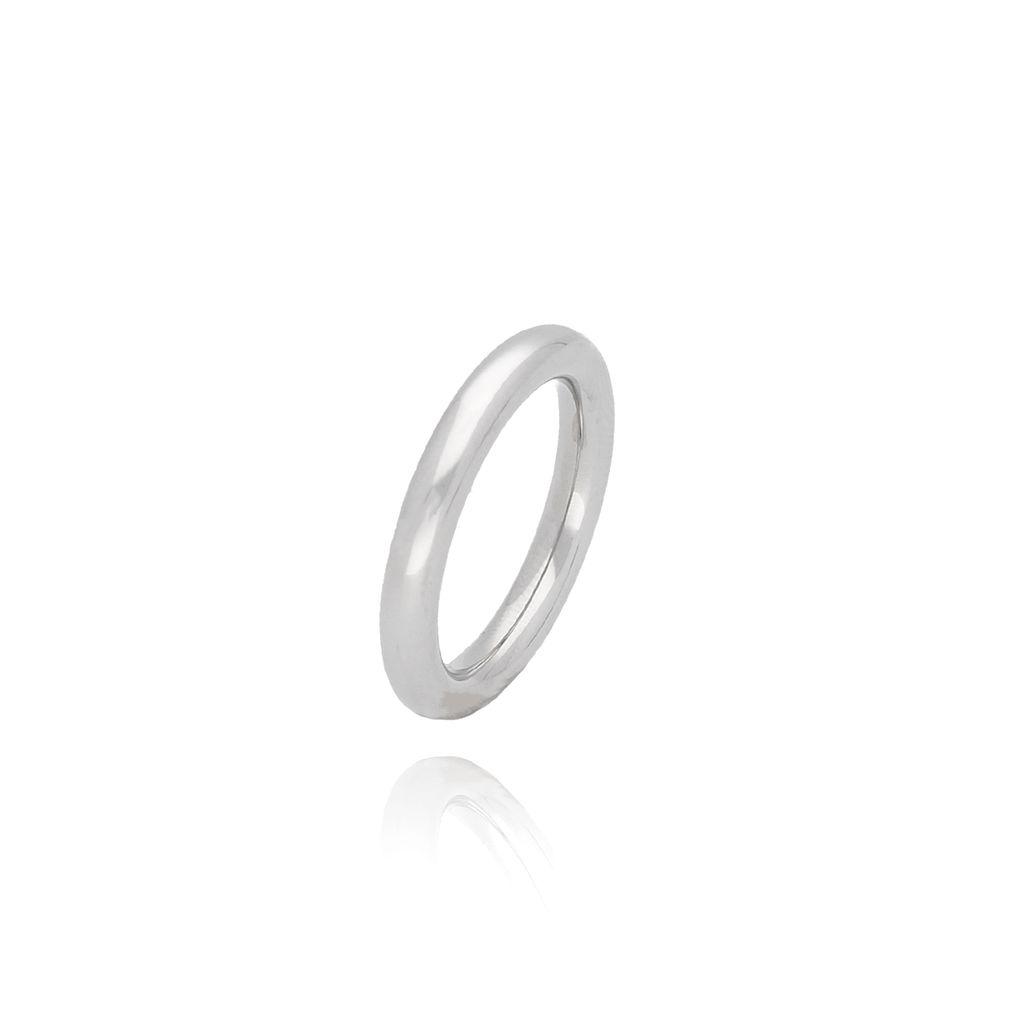 Pierścionek srebrny ze stali szlachetnej PSA0030 Rozmiar 12