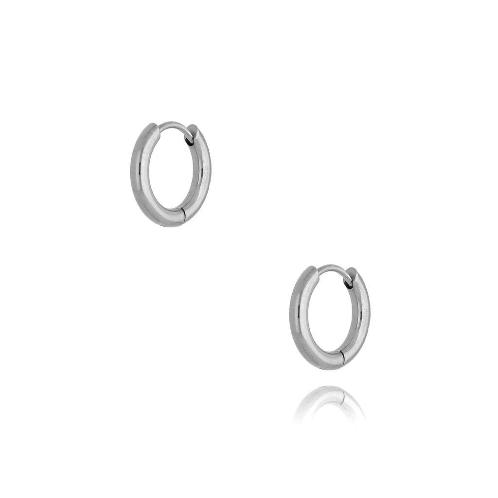 Kolczyki srebrne kółka małe I KSA0132