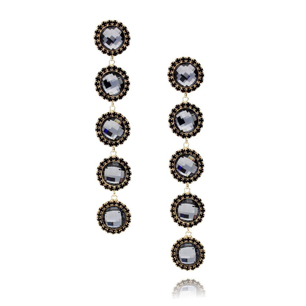 Kolczyki kryształowe z cyrkoniami KSS0776