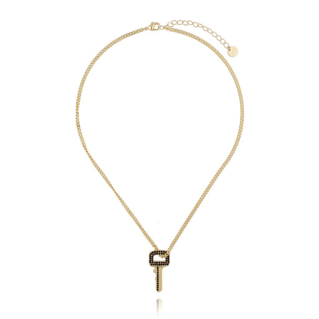 Naszyjnik złoty z kluczem NRG0248