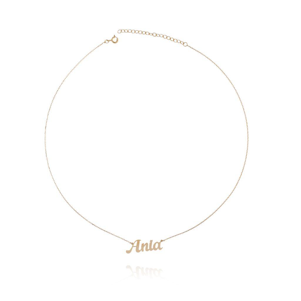 Naszyjnik srebrny pozłacany ANIA NAT0108