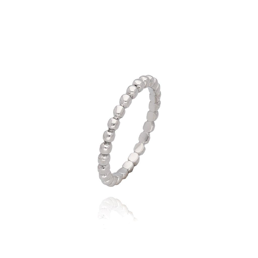 Pierścionek srebrny ze stali szlachetnej PSA0024 Rozmiar 12