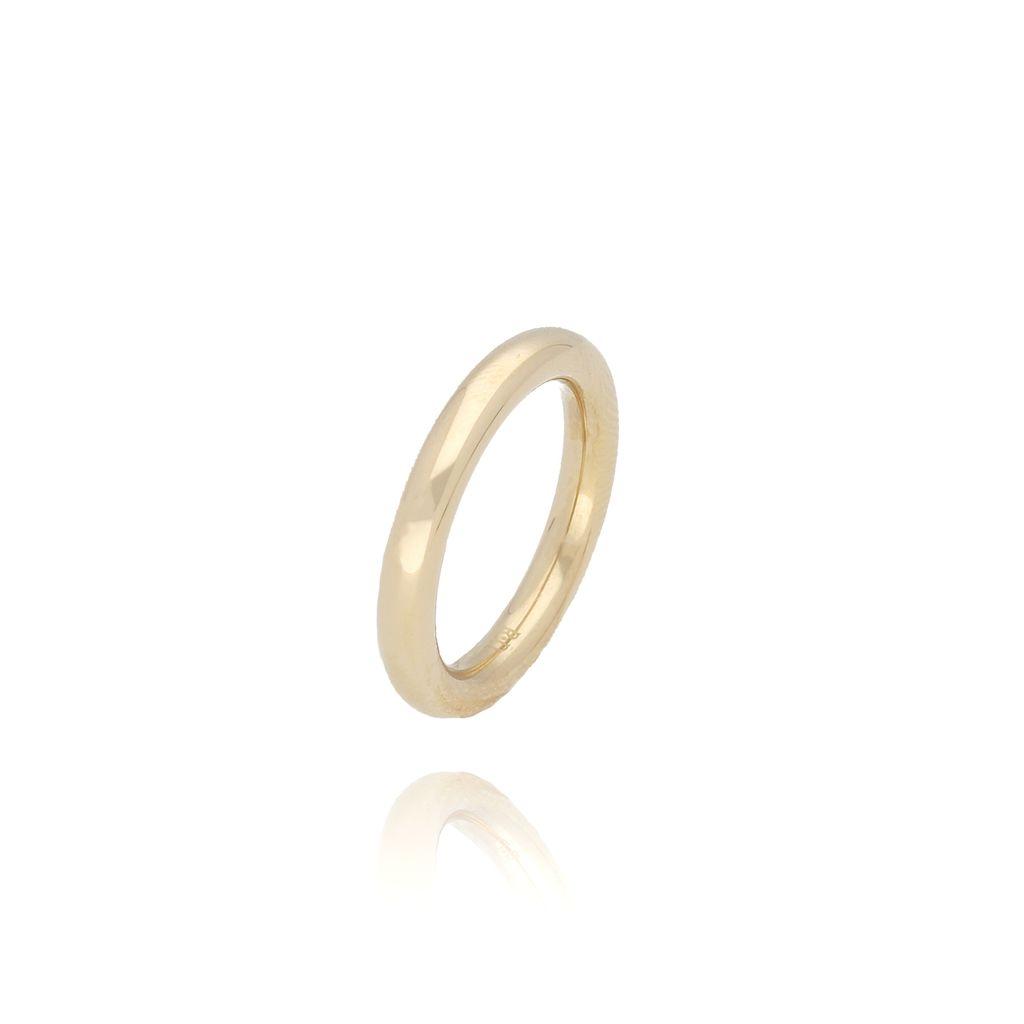 Pierścionek złoty ze stali szlachetnej PSA0031 Rozmiar 12