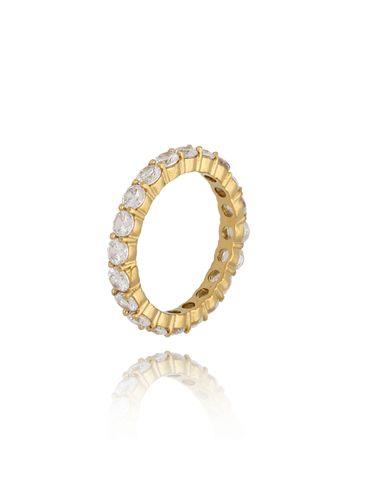 Pierścionek złoty ze stali szlachetnej Ophelia PSA0191 rozmiar 12