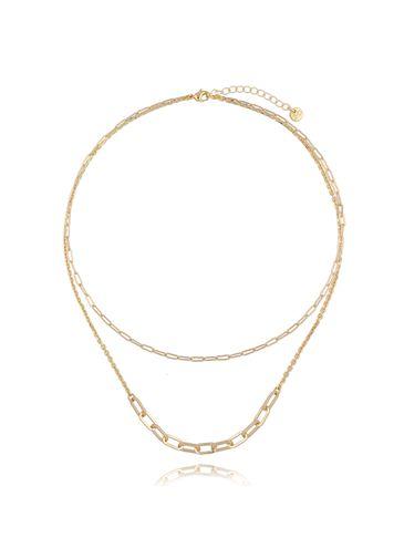 Naszyjnik złoty łańcuch NSL0027