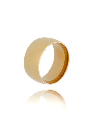 Pierścionek złoty ze stali szlachetnej PSA0173 rozmiar 10