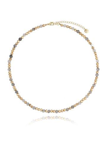 Naszyjnik złoty z kwarcami NSC0121