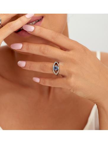 Pierścionek srebrny ze stali szlachetnej PSA0138 Rozmiar 15