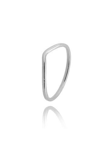 Pierścionek srebrny ze stali szlachetnej PSA0108 rozmiar 12