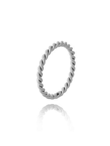 Pierścionek srebrny ze stali szlachetnej PSA0133 Rozmiar 15