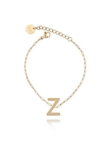 Bransoletka złota z literką Z BAT0109