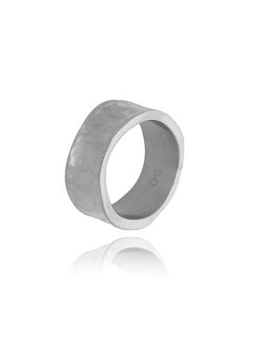 Pierścionek srebrny ze stali szlachetnej PSA0171 rozmiar 18
