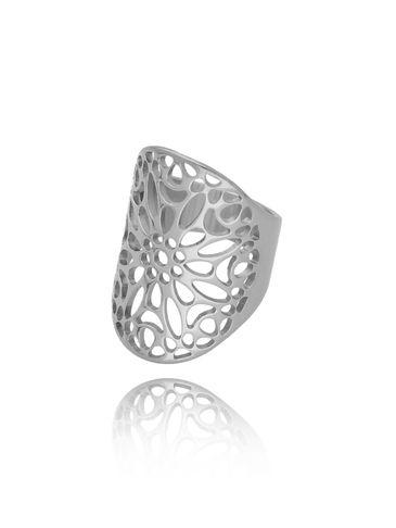 Pierścionek srebrny ze stali szlachetnej Orient PSA0180 rozmiar 17