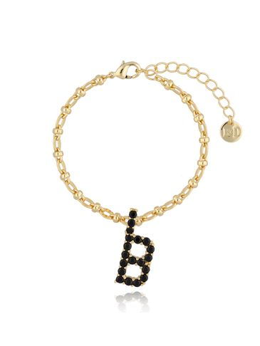 Bransoletka z zawieszką literka B BRG0162