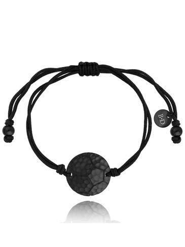 Bransoletka z czarną piłką BGL0467