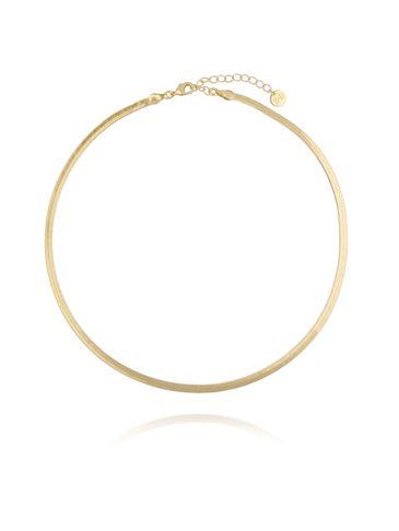 Naszyjnik złota żmijka NRG0189 35 cm
